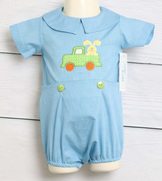 Easter Outfit Easter Bunny Romper for Boys Baby Boy Easter Outfit 292681