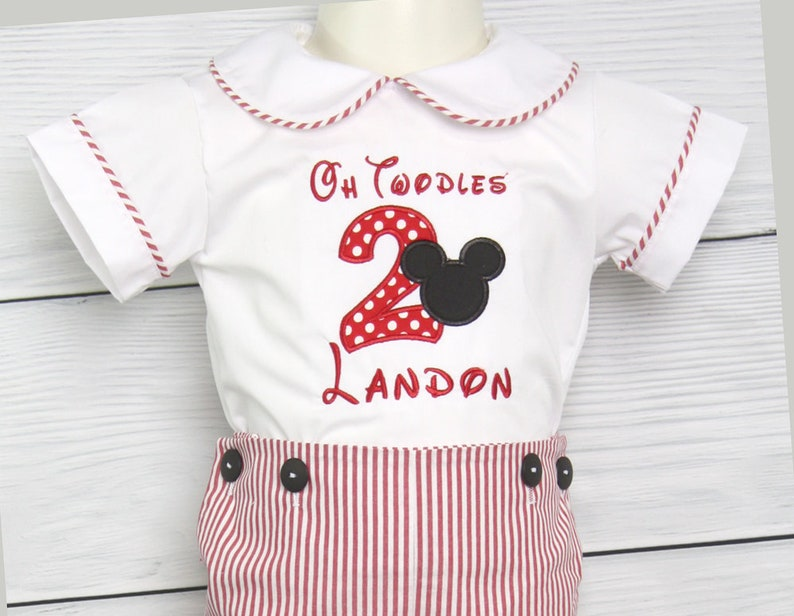 Mickey Mouse Outfit Boy 293715 Mickey Mouse Birthday Shirt Mickey Mouse First Birthday Boy Mickey First Birthday Shirt