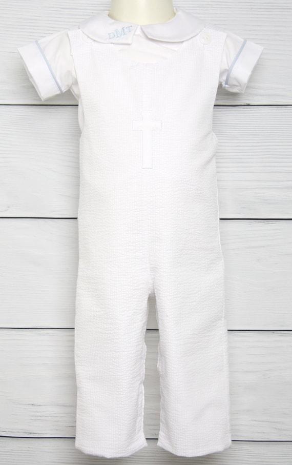 f7ac268f7 Baby Boy Baptism Outfit with Cross Baptism Outfit for Boy