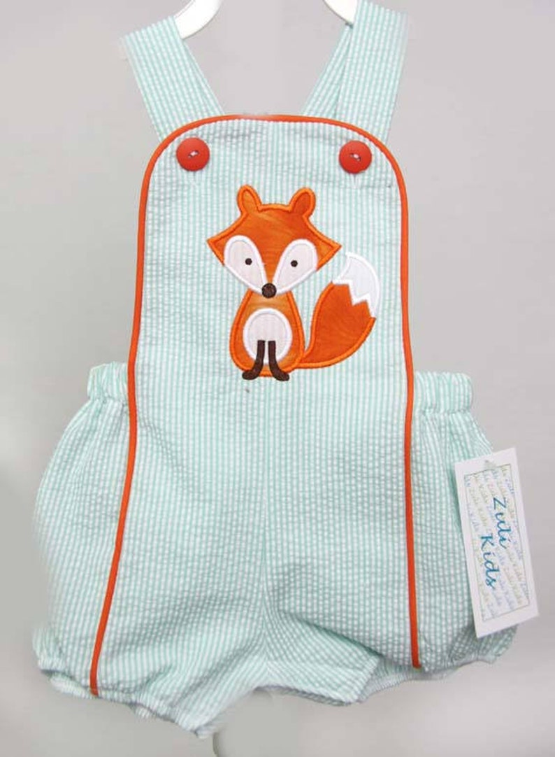 Baby Boy Fox Outfit Birthday Shirt Wild One