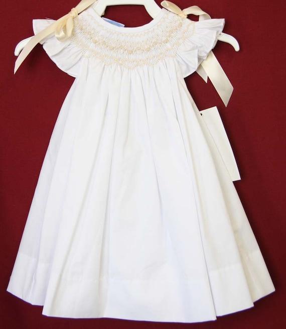 2e0115c309da Flower Girl Dresses Baby Girl Dresses for Weddings Smocked