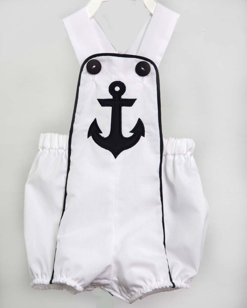 fb25dad26e7f Sunsuits Nautical Beach Outfit Baby Boy Clothes Toddler