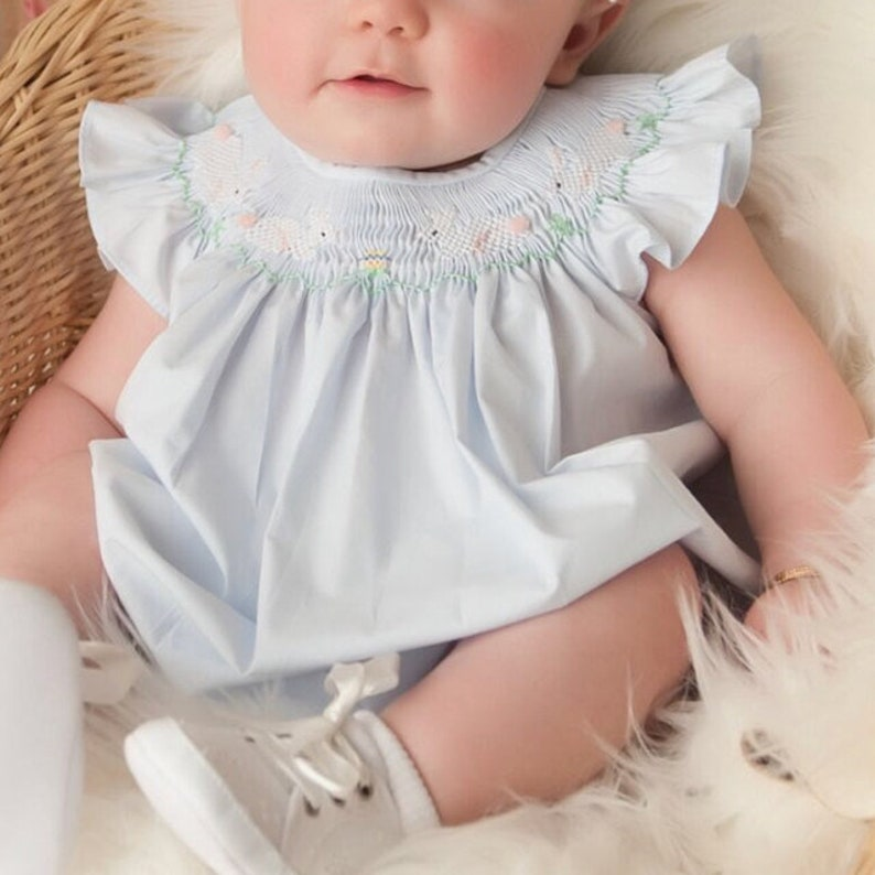 db8d49eb55ba Baby Easter Outfit for Girls Girls Easter Dress Toddler