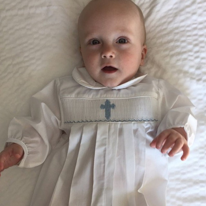 af19226d0 Baby Boy Baptism Outfit with Cross Christening Suit