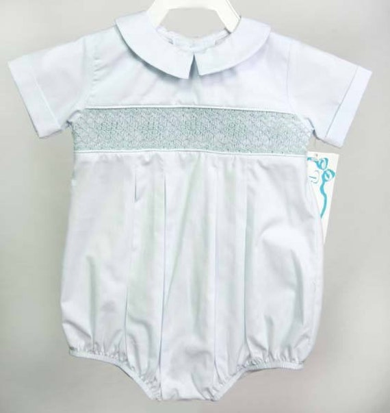 6b06b765beca Smocked Clothes Baby Easter Outfit with Smocking Boy Easter