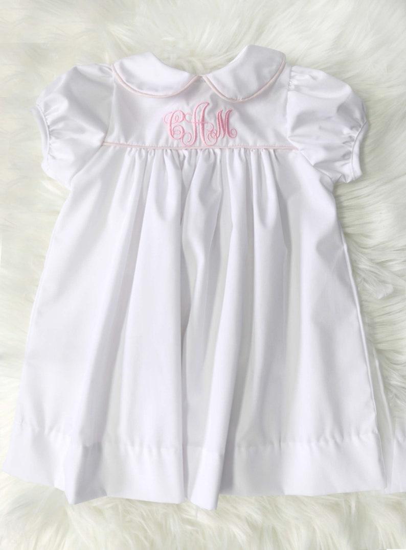 Weiße Taufe Kleid für Baby-Mädchen Taufe Kleid für | Etsy