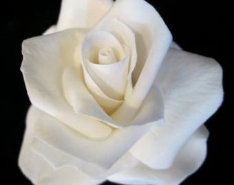 rose cake topper sugar flowrs wedding bridal gumpaste edible white red coral pink yellow floral arrangement