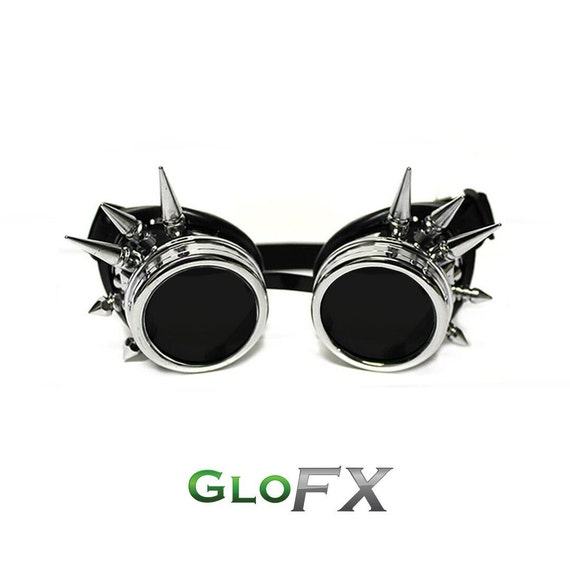 Steampunk Cyber Punk Gothic Goggles Glasses COSPLAY WEB LIVE STREAM DRESS UP