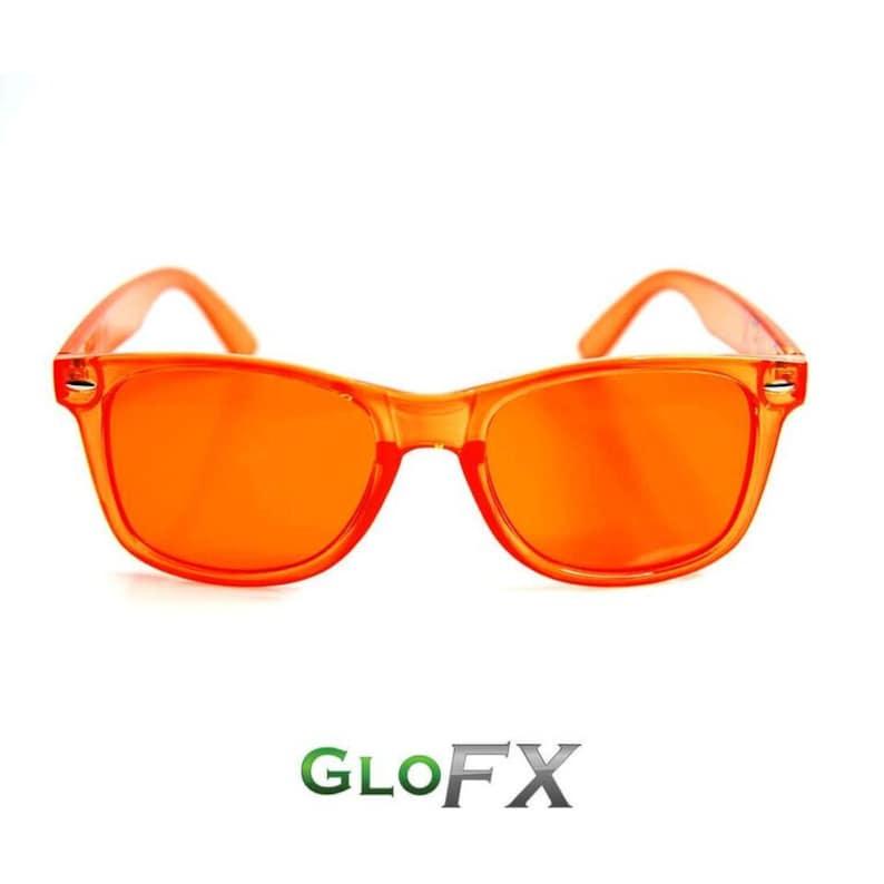 deb58eed501 GloFX Orange Color Therapy Glasses Chakra Balancing Sunglasses