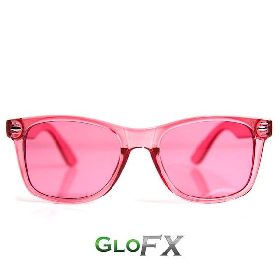 GloFX couleur infusé Diffraction lunettes rose Rose   Etsy e15bbc6be42d