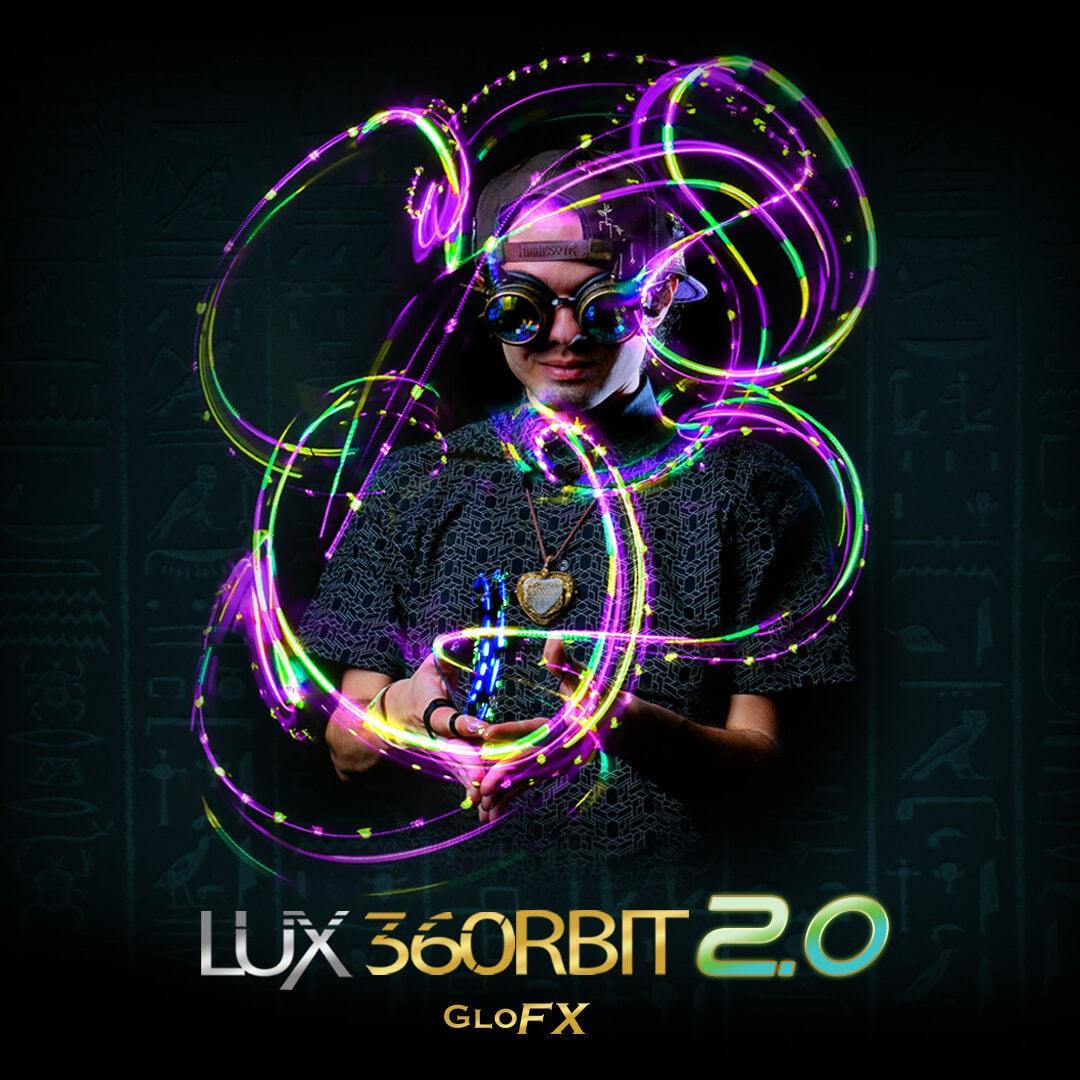 Light Show Lightshows Rave Lux Glove Set 2.0-10 LED Professional Gloves