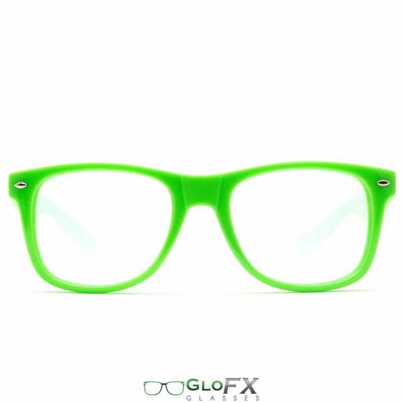 a3caf0e0061e GloFX Ultimate Diffraction Glasses Green. Rave Glasses Optics