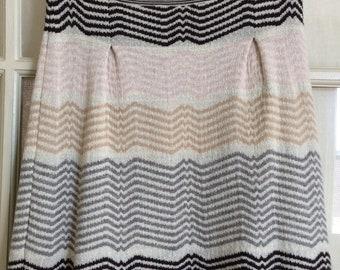 Vintage Missoni Mini Skirt - Zig Zag Design