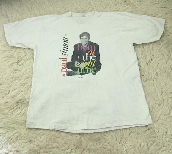 Authentic vintage 1991 paul simon T-shirt