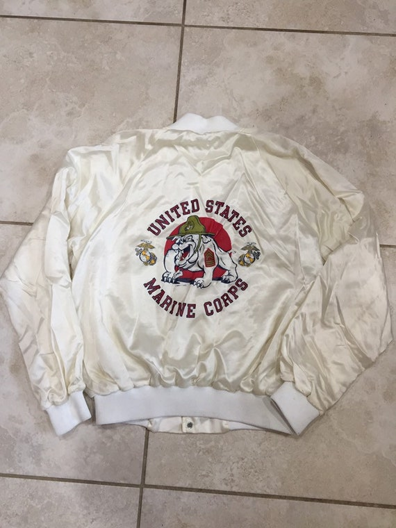 Vintage 1980s Marie Corps bomber jacket