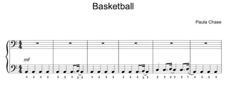 Basketball image 1