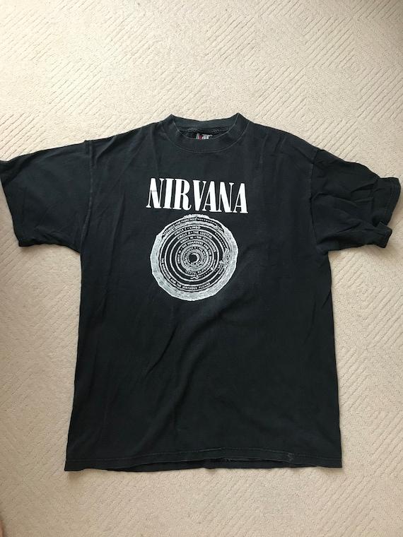 Vintage 90s nirvana  Vestibule Circles Of Hell Dan
