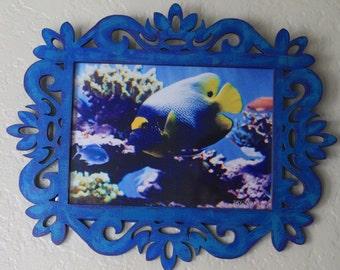Blue Face Angelfish Wall Art
