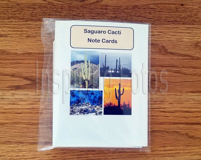 Featured listing image: Saguaro Cacti Note Cards