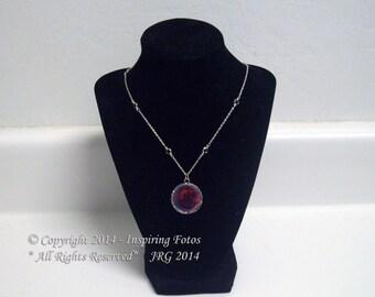 Red Rose Adjustable Necklace