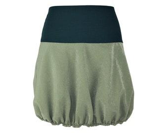 40bb913f3 Rock Bubble skirt cord green skirt Cordrock corduroy light | Etsy