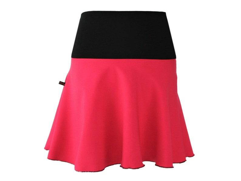 huge discount 52d51 b7c04 Rock Mini Pink Minirock A-Linie Skater Glockenrock Rosa
