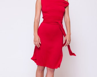 89502b5082 Red Dress, Romantic Dress, Boho Clothing, Handmade Dress, Sexy Dress,  Evening Dress, Midi Dress, Boho Chic Clothing, Summer Dress, Dress