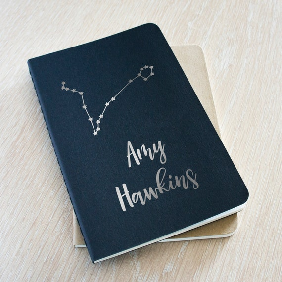 Quaderno Constellation - Star Sign personalizzato