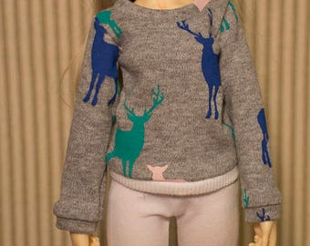 Deer sweater for msd and minifee
