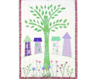 Tree of Life Miniature Quilt Pattern