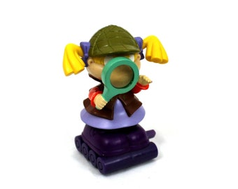 Vintage Rugrats Toy.  Angelica Pickles Wind Up Toy. Burger King Kids Meal Nickelodeon 90s Rugrats Wind Up Toy. 90s Angelica Rugrats Gift