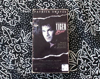 Tiger Waraw VHS Tape. 1980s Action Movie. 80s Action Violent B Movie Cult Classic Patrick Swayze VHS. 80s Action Road House Type Movie