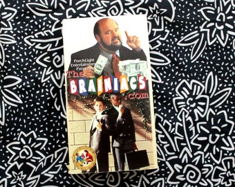 The Brainiacs.com VHS Tape. Rare Feature Films For Families Movie Vhs. Porchlight Entertainment. Christian Kid Movie. Family Values