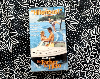 My Father The Hero VHS Tape. 90s Comedy Movie. Classic Funny 90s Family Rom Com VHS Katherine Heigl Movie VHS Collection 1989 Uncle Buck