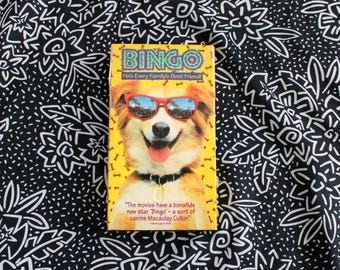 Bingo VHS Tape Set. 90s Retro Family Comedy Movie. Cult ClassicTalented Dog Actor Movie. Like Air Bud But Not Air Bud. Bingo 90s Dog VHS