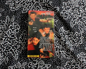 RARE Once A Thief Promo Screener Sealed VHS Tape. Cult Classic 90s John Woo Vhs Movie. Super Rare Screening VHS. Gritty Karate Film Noir