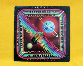 Journey - Departure - Vintage Vinyl LP - Original 1980 Journey First Pressing. Classic Arena Hard Rock. 70s Rock Record. Any Way You Want It