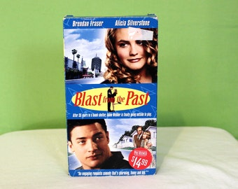 Blast From The Past VHS Tape. Cult Classic 90s Comedy Brendan Fraser Vhs Movie. Goofball VHS Comedy. Alicia Silverstone Movie. 90s Comedy