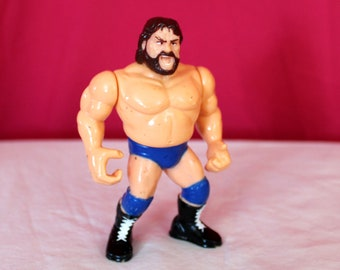 Hacksaw Jim Duggan Vintage WWF Action Figure.  WWE Collectible HasbroToy. Vintage Wrestling Toy. Wrestling Action Figure. Gift For Him