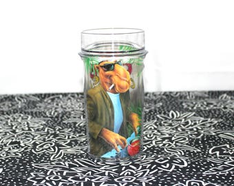 Vintage Joe Camel Plastic Cup Collectible Club Camel Cigarettes Drinking Glass Plastic Joe Camel RJR Tobacco Collectible Smoker Drinker Gift