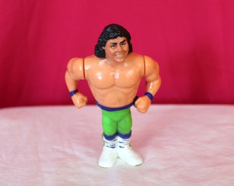 Marty Jannety From The Rockers Vintage WWF Action Figure.  WWE Collectible Toy made by Hasbro. Vintage Wrestling Toy. 80s 90s Kid Nostalgia