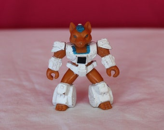 Battle Beast Beastformers Rare Vintage 80s Toy. Sly Fox Vintage Battle Beast Figure Number 16. Sly Fox Battle Beast Beastformer 80s Toy.