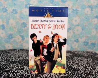 Benny & Joon VHS Tape. Cult Classic. Johnny Depp 90s Romantic Comedy. Rare Benny And Joon VHS Collector Gift. 90s Cute Rom Com Movie