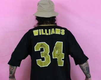 d131964ed Ricky Williams New Orleans Saints NFL Football Jersey. Vintage Collectible Ricky  Williams Nfl Football Jersey. 90s NFL N.O. Saints Jersey
