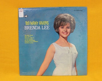 Brenda Lee - Too Many Rivers - SEALED Vintage Vinyl LP - 1965 Brand New First Stereo Pressing. 60s Female Country Vocals. Brenda Lee Gift
