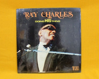 Ray Charles - Doing His Thing - SEALED Vintage Vinyl LP Record Album - Soul Blues Male Vocal Original ABC Records 1969 First Pressing