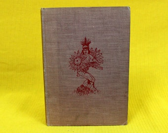 Dances And Stories Of The American Indians. 1944 First Edition Hardcover Native American Indian Dances History Book. American Indian Gift
