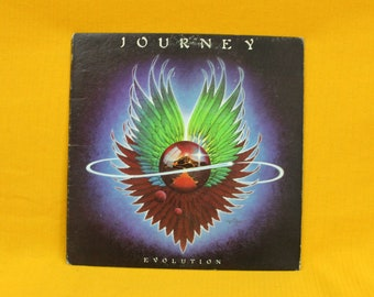 Journey - Evolution - Vintage Vinyl LP - Original 1979 Columbia Records First Pressing. Classic Arena Hard Rock. 70s Rock Record