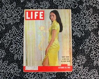 Vintage Life Magazine. October 24, 1960 Rare Vintage Nancy Kwan As Suzie Wong Life Magazine. 1960s Life Magazine. Suzie Wong Life Magazine
