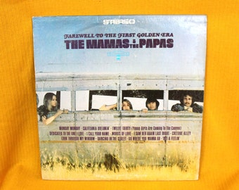 The Mama's And The Papa's - Farewell To The First Golden Era Vintage Vinyl LP - Original Dunhill Records from 1967 Psychedelic Classic Rock
